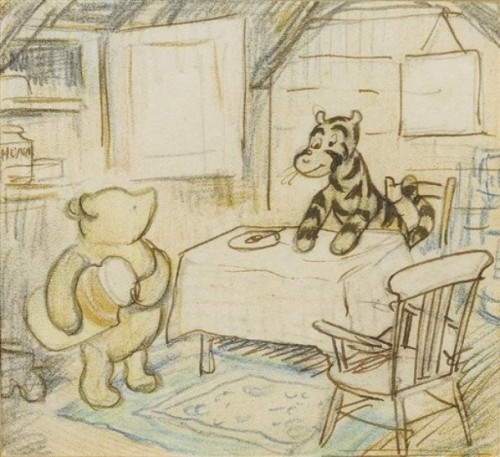 Tiggers Don't Like Honey ~ Ernest H. Shepard